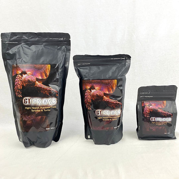 GTFREEK Tortoise and Turtle Food 250g Reptile Food GTFreek