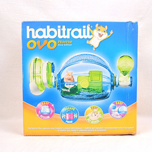 HABITRAIL Ovo Home Blue Small Animal Habitat Habitrail