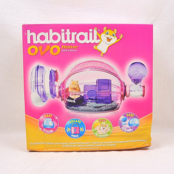 HABITRAIL Ovo Home Pink Small Animal Habitat Habitrail