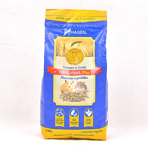 HAGEN Original Plus Hamster and Gerbil Food 1kg Small Animal Food Hagen