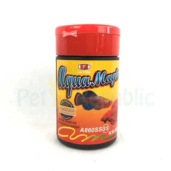 HAIFENG AquaMagic Excel Betta 50gr - Pet Republic Jakarta