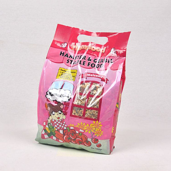 HAMSFOOD Hamster and Gerbil Staple Food 1kg Small Animal Food Hamsfood