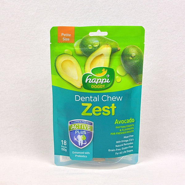 HAPPIDOGGY Dental Chew ZEST Petite Avocado 150gr Dog Dental Chew Happi Doggy