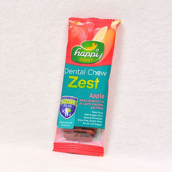 HAPPIDOGGY Zest Apple Regular 11gr Dog Dental Chew Happi Doggy