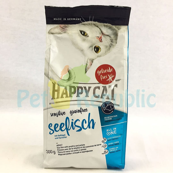 Happy Cat Sensitive Seafish ( Seefisch ) 300gr - Pet Republic Jakarta