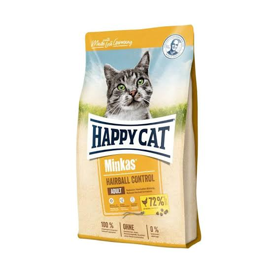 HAPPYCAT Minkas Hairball Control 10kg Cat Dry Food Happy Cat