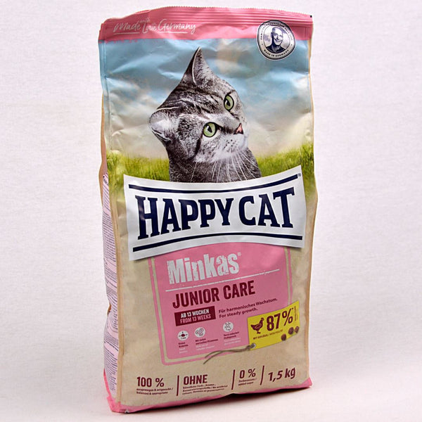 HAPPYCAT minkas Junior Care 1,5kg Cat Dry Food Happy Cat