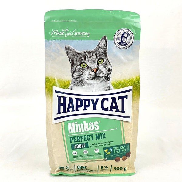 HAPPYCAT Minkas Perfect Mix 500gr Cat Dry Food Happy Cat