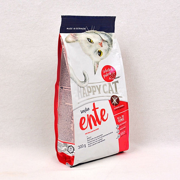 HAPPYCAT Sensitive GlutenFree Duck ( Ente ) 300gr Cat Dry Food Happy Pet