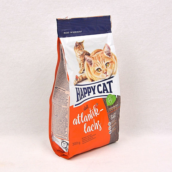 HAPPYCAT Supreme Atlantic Salmon 300gr Cat Dry Food Happy Pet
