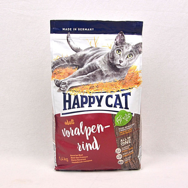 HAPPYCAT Supreme Bavarian Beef 1.4kg Cat Dry Food Happy Cat