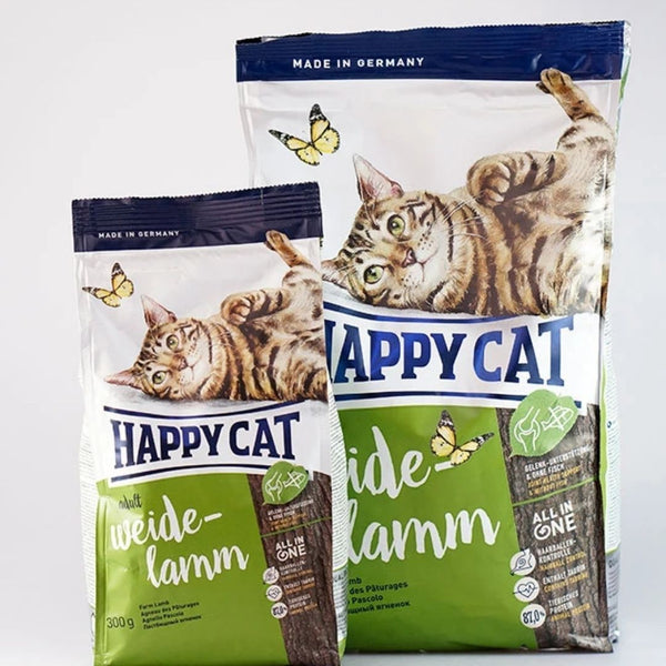 HAPPYCAT Supreme Farm LAMB 4kg Cat Dry Food Happy Cat