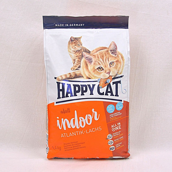 HAPPYCAT Supreme Indoor Atlantic Salmon (Atlantik Lachs)1,4kg Cat Dry Food Happy Pet