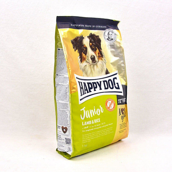 HAPPYDOG Supreme Young Junior With Lamb and Rice 1 KG Dog Food Dry Happy Dog