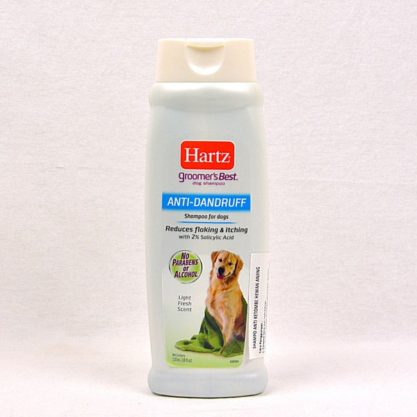 HARTZ Anti Dandruff Shampoo 532ml Grooming Medicated Care Hartz