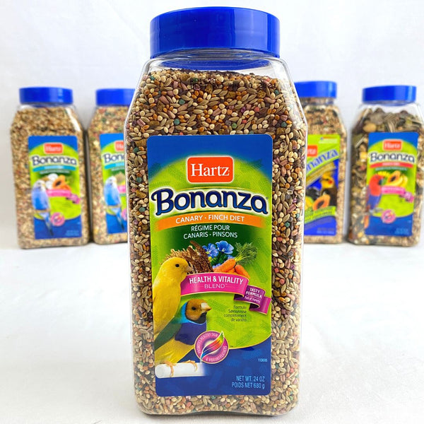 HARTZ Bonanza Canary and Finch 680gr Bird Food Hartz