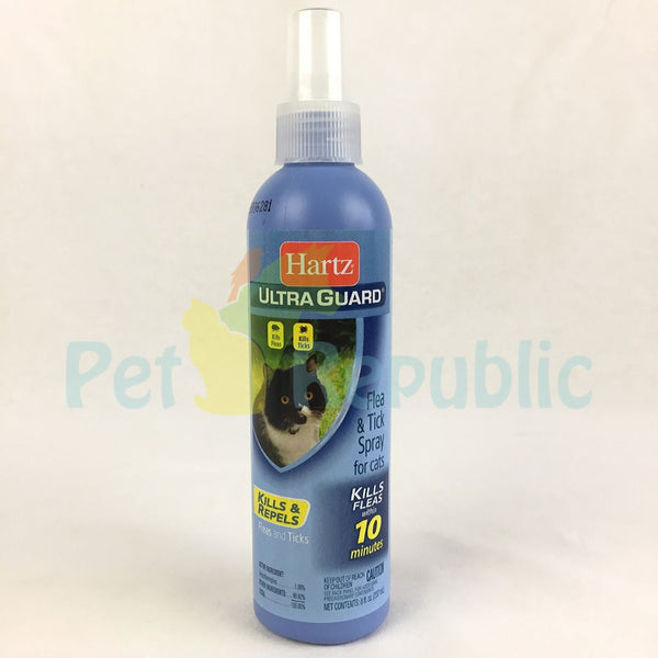 HARTZ Control Flea and Tick Repellent Cat Spray 237ml - Pet Republic Jakarta
