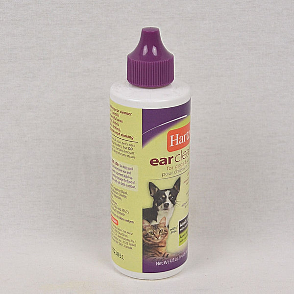 HARTZ Ear Cleaner for dog & cat 118ml Grooming Pet Care Hartz