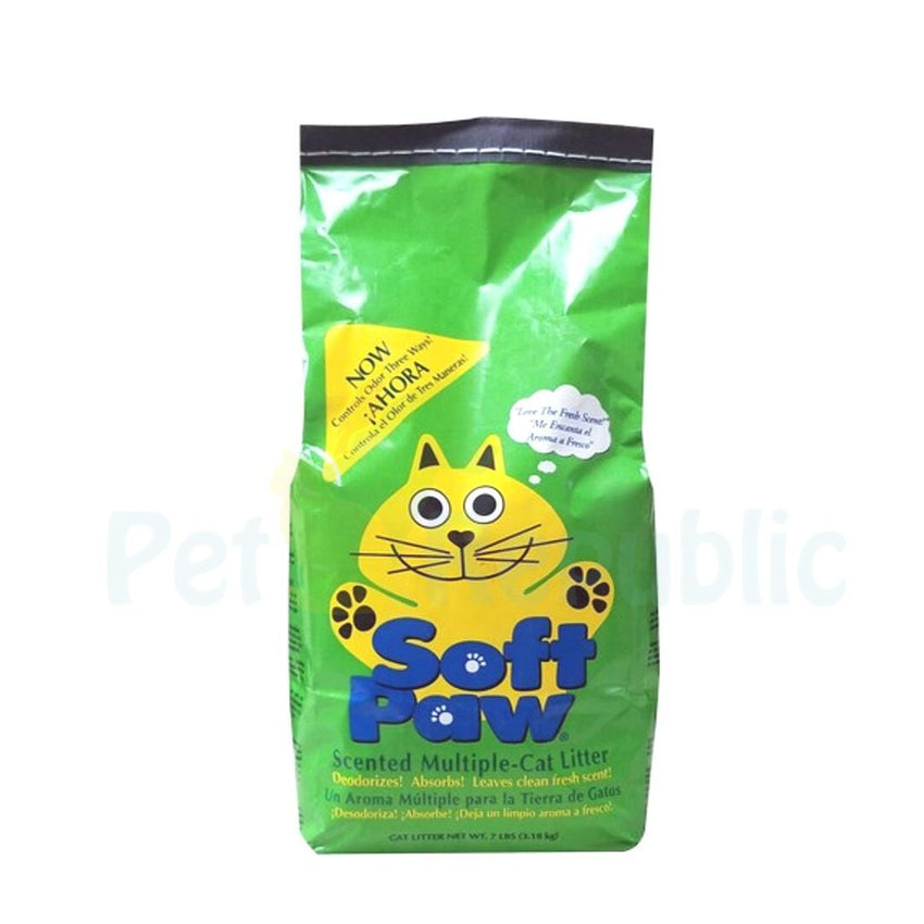 HARTZ Softpaw Cat Litter Scented Multiple 10lbs - Pet Republic Jakarta
