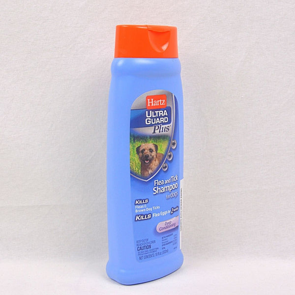 HARTZ Ultraguard Flea and Tick Deep Conditioning Shampoo 532ml Grooming Medicated Care Hartz