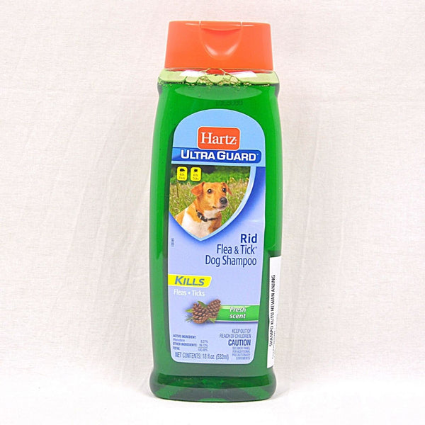 HARTZ Ultraguard Rid Flea and Tick Shampoo with Fresh Scent 532ml Grooming Medicated Care Hartz