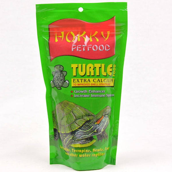 HOKKY Extra Calcium Turtle Food 100g Reptile Food Hokky