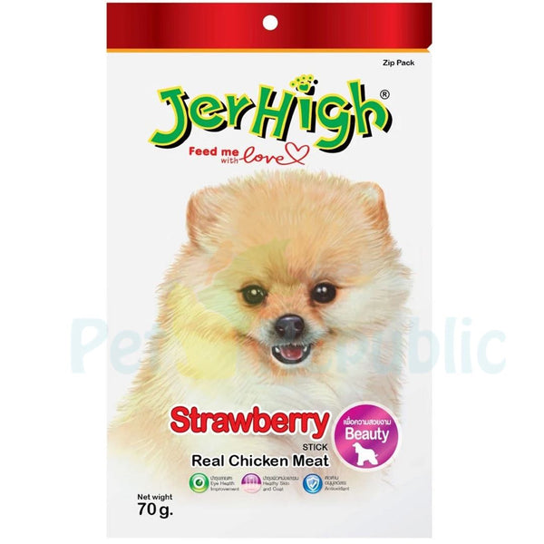 JERHIGH Strawberry 70gr - Pet Republic Jakarta