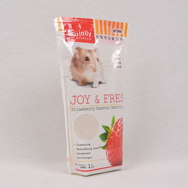 JOLLY Hamster Bathing Sand 1kg Small Animal Grooming Jolly