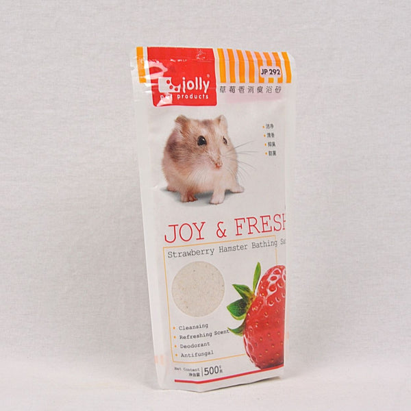 JOLLY Hamster Bathing Sand 500g Small Animal Grooming Jolly