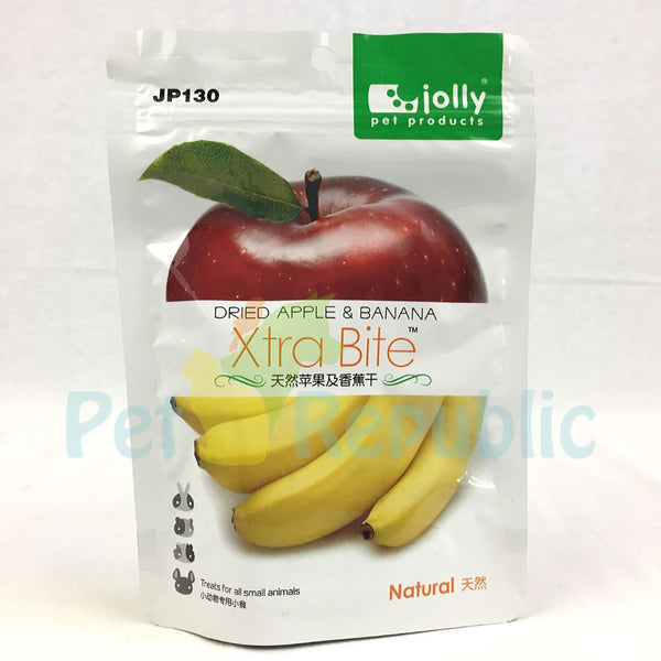 JOLLY JP130 Dried Apple and Banana 30gr - Pet Republic Jakarta