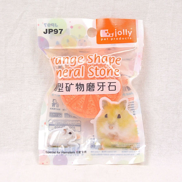 JOLLY JP97 Snack Hamster ORANGE Mineral Stone Small Animal Snack Jolly