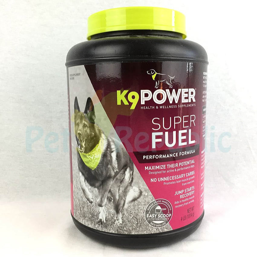 K9 Power SUPER FUEL Performance Booster 4lbs - Pet Republic Jakarta