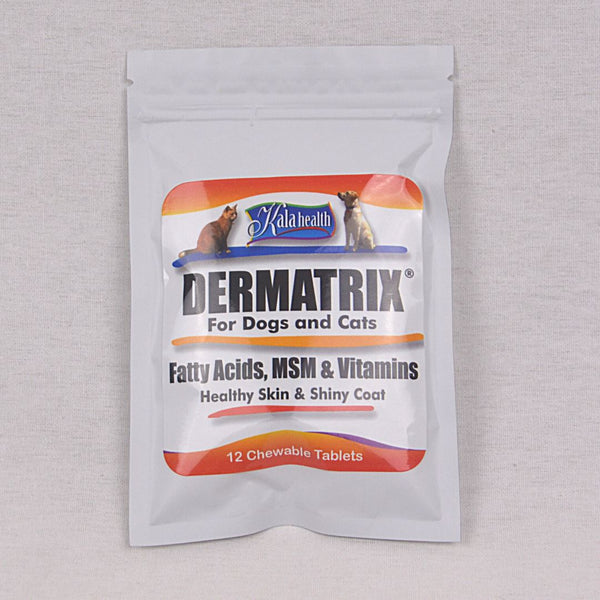 KALAHEALTH Dermatrix 12 tablets Pet Vitamin and Supplement Kala Health