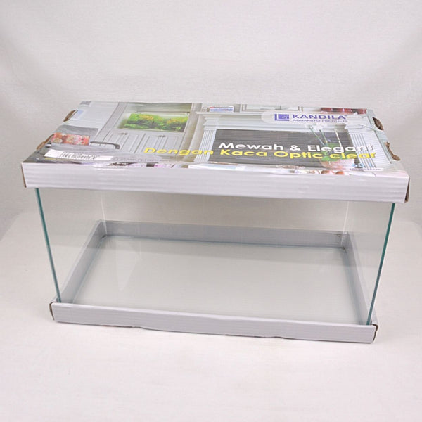 KANDILA KDA 508 Super Clear Glass Tank Hot Bending Fish Aquarium Kandila 63L