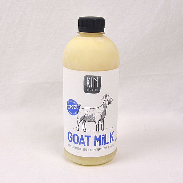 KINDogfood TOPPER Goat Milk 500ml Frozen Food Kin Dogfood