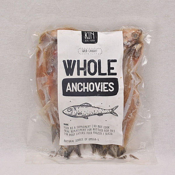 KINDOGFOOD Topper Wild Caught Whole Anchovies 300gr Frozen Food Kin Dogfood