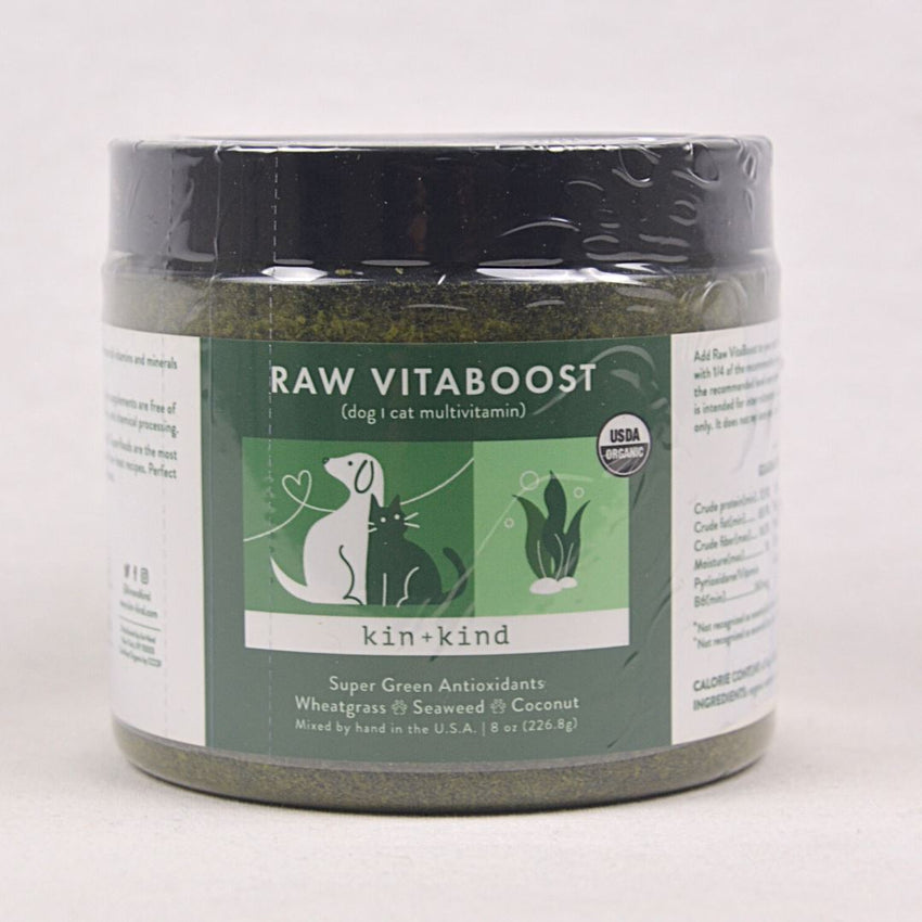 KIN+KIND Raw Vitaboost Supplement 226gr Pet Vitamin and Supplement Kin and Kind
