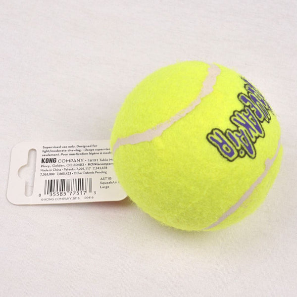 KONG AST1B Squeakair Tennis Ball Large 1pcs Dog Toy Kong