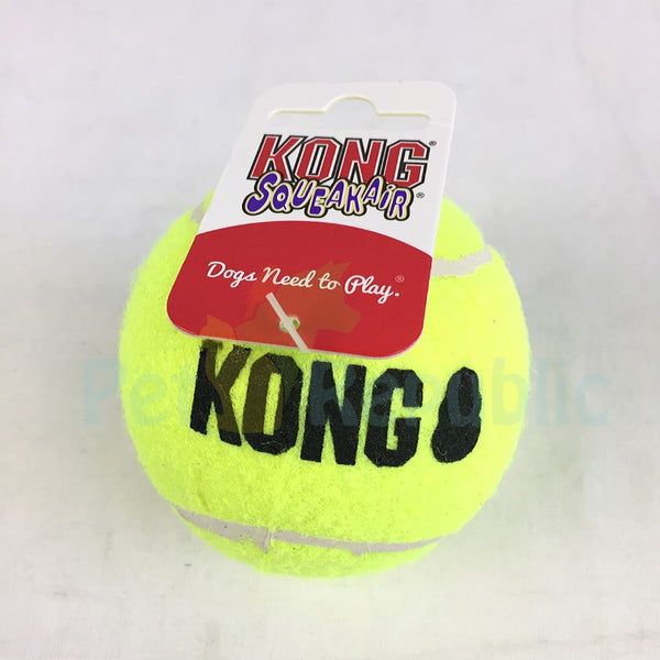 KONG AST1B Squeakair Tennis Ball Large 1pcs - Pet Republic Jakarta