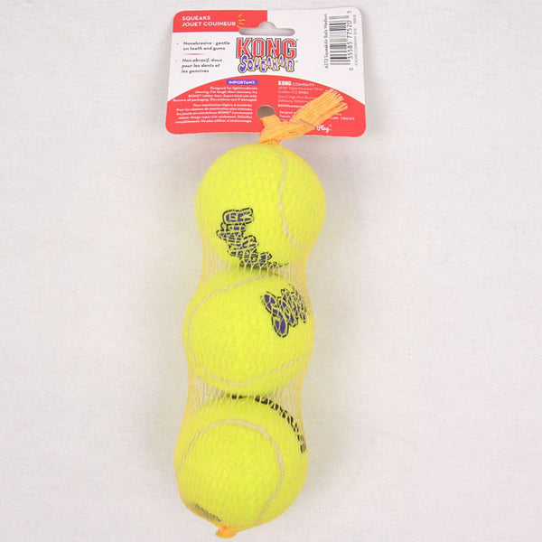 KONG AST2 Squeak air Ball Medium 3pcs Dog Toy Kong