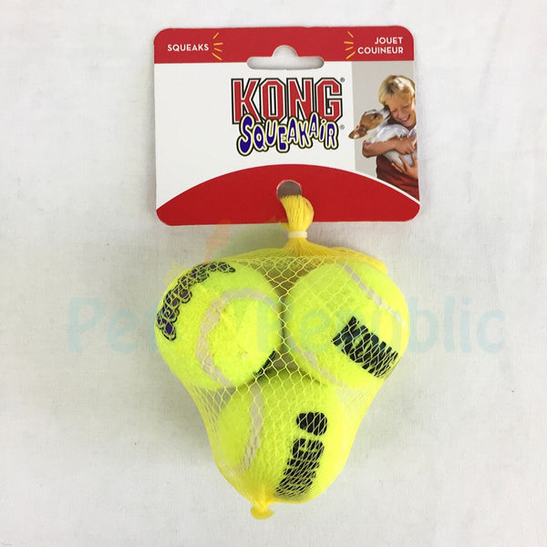 KONG AST3 Tennis Ball Small 3pcs - Pet Republic Jakarta