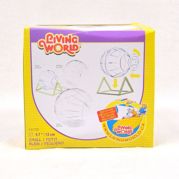 LIVINGWORLD Exercise Ball With Stand Small Small Animal Toy Living World