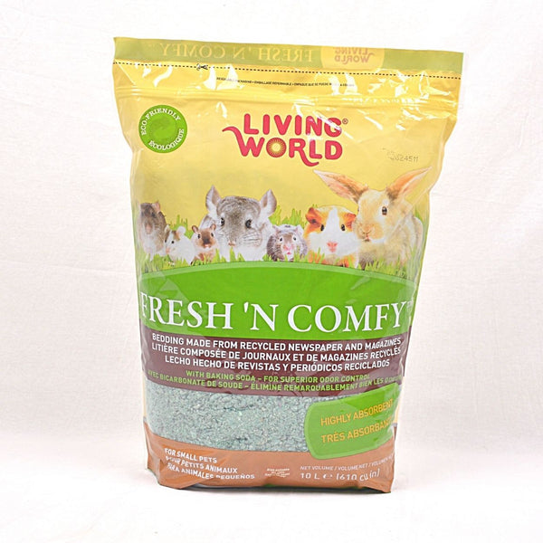 LIVINGWORLD Fresh and Comfy Green 10L Small Animal Sanitasi Living World