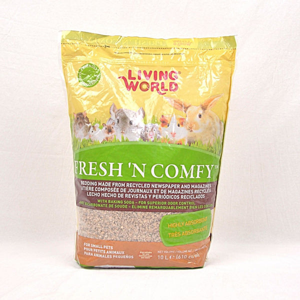 LIVINGWORLD Fresh and Comfy Tan 10L Small Animal Sanitasi Living World