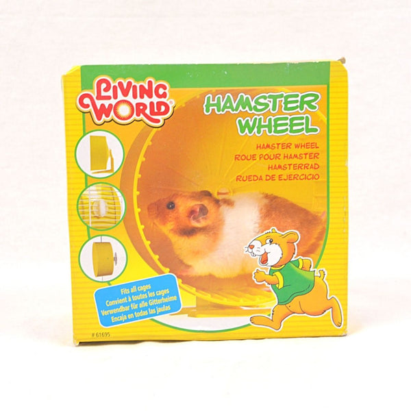 LIVINGWORLD Plastic Hamster Wheel Small Animal Toy Living World