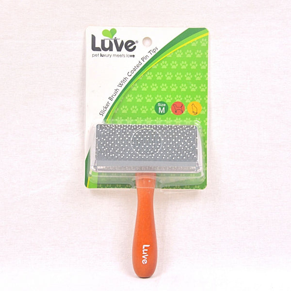 LUVE LV016 Slicker Brush With Coat Pins Medium Grooming Tools Luve