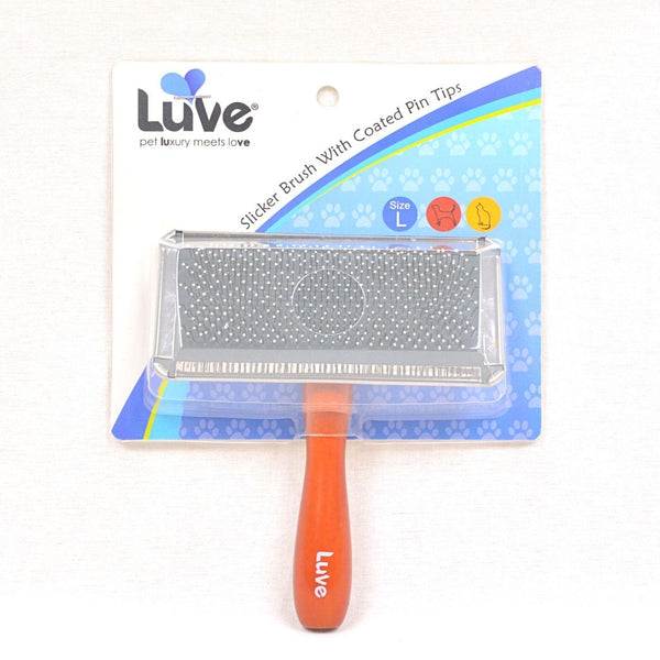 LUVE LV017 Slicker Brush with coated pin Large Grooming Tools Luve