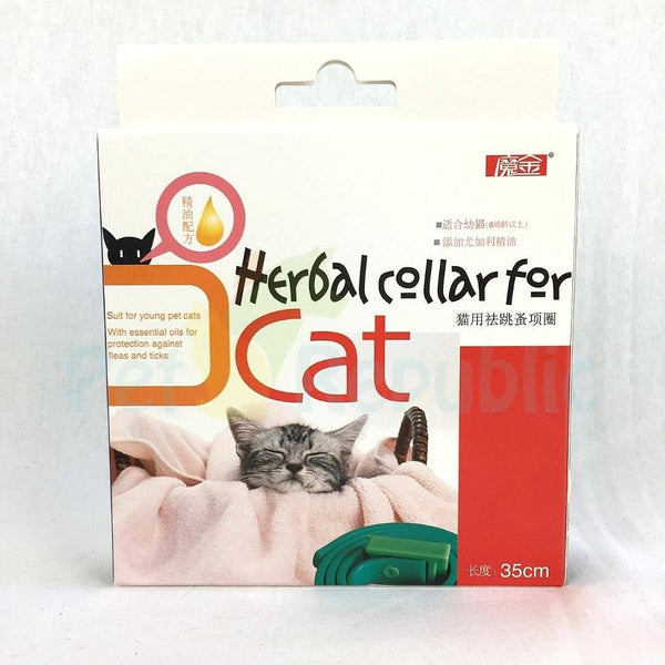 MAGIC Pet Herbal Flea and Tick Collar for Cat - Pet Republic Jakarta