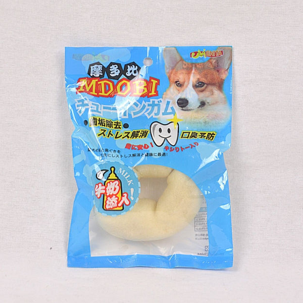 MDOBI Donnut With Milk Flavour 5'' 1pcs Dog Snack MDOBI
