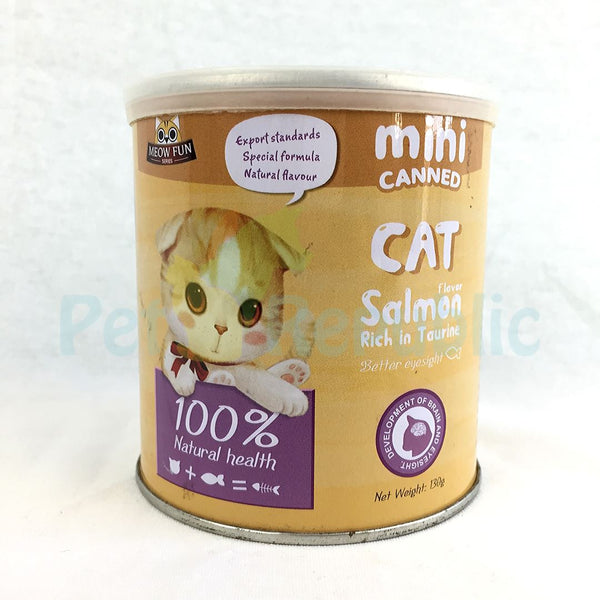 MEOWFUN Salmon Flavor Powder with Taurine 130gram - Pet Republic Jakarta